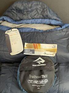 Customer Return w/tags - Sea To Summit - Trailhead ThIII - Sleeping Bag - Long