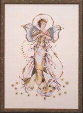 Mirabilia Cross Stitch Chart. MD52  June's Pearl Fairy Cheap Shipping.