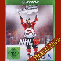 NHL 16 - Microsoft Xbox ONE ~12+ Sports/Ice Hockey Game ~ Brand New & Sealed!