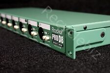 Radial Engineering ProD8 Eight Channel Rackmount Passive Direct Di Box Pro D8