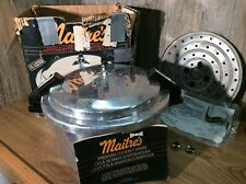 Maitre's Pressure Cooker Stove Top Aluminum 12Q Pressure Cooker, Preowned K5