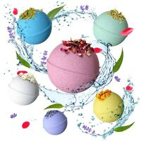 6 Bath bombs Gift Set with Epsom Salt - Natural and Safe for Kids