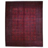 Barkat Rugs Hand-Knotted Tribal Turkoman 100% Wool (Size 8.8 X 11.6) Brral-6315