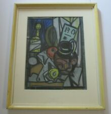 Norman Stiles Chamberlain (1887 - 1961) DRAWING ABSTRACT CUBIST CUBISM MODERNISM