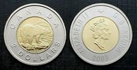 Canada 2003 Old Effigy Proof Like Gem Toonie!!
