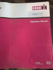 1975 CASE IH IH Cub & Cub Lo Boy Owners Operators Instruction Manual