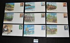 Norfolk Island collection lot of 17 unused illustrated pse [FD1324]
