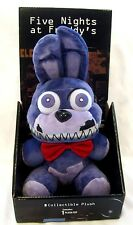 "Five Nights at Freddy's 10"" Nightmare Bonnie Purple Rabbit Plush-Brand New!"