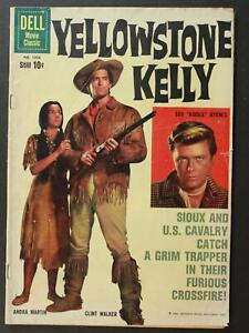 1959 YELLOWSTONE KELLY WESTERN DELL FOUR COLOR COMIC # 1056 (VG)