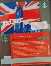 New Unused UK Starbucks 2011 London Card $0