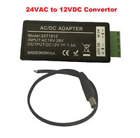 24VAC To 12VDC Convertor For CCTV Security Camera Power Supply Adaptor