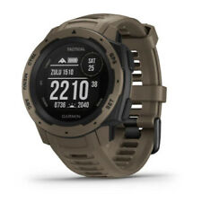 Garmin Instinct Outdoor GPS Watch (Coyote Tan, Tactical Edition)