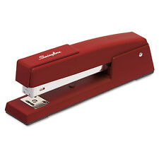 Swingline 747 Classic Full Strip Stapler 20-Sheet Capacity Lipstick Red 74718