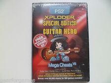 PLAYSTATION 2 PS2 PAL EXPLODER GUITAR HERO SPECIAL EDITION MEGA CHEATS V5