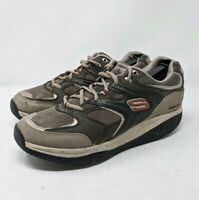Men's Skechers Shape Ups 10.5 Walking Sneakers 52004 Toning Shoes Brown Tan