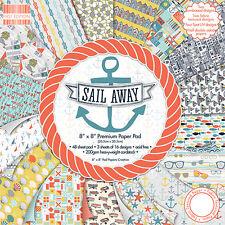 Dovecraft Primera Edición 8x8 Cojín De Papel-Tarjetas De Vela De Distancia-Scrapbooking