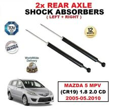 2x REAR SHOCK ABSORBERS SET for MAZDA 5 MPV (CR19) 1.8 2.0 CD 2005-05.2010