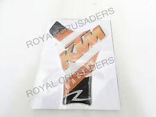 NEW TANK PAD STICKER / DECAL SUITABLE FOR KTM DUKE RC 200 390 #034