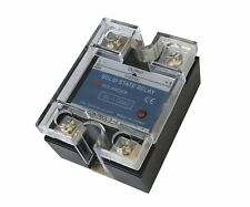 40A DC to DC Solid State Relay SSR  + Clear Cover
