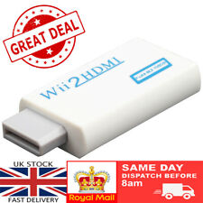 Wii to HDMI Converter Adapter 3.5mm Jack Audio 1080p