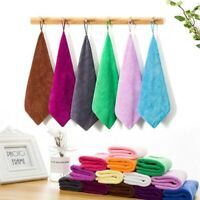 10-Pack: Microfiber Cleaning Cloth Towel No Scratch Polishing Detailing Rags