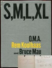Rem Koolhaas Office for Metropolitan Architecture / S M L XL Signed 1st ed 1995