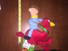 """12"""" 14"""" CVS Stuffins Rudolph Misfit Plush Stuffed Cowboy Ostrich Toy Doll"""