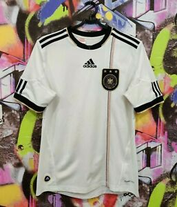 Germany Soccer National Team Football Shirt Jersey Adidas 2010 Youth L / Mens XS
