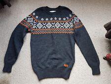 Superdry Premium Vintage Nordic Knit Jumper