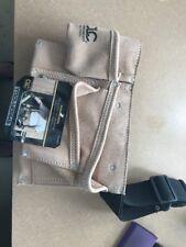 "CLC Tool Works I370X3 Heavy Duty Work Apron, 2"", 8 Pocket, Suede Leather"