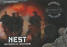 "Transformers Optimum Collection - TC1 ""Chapman NEST Uniform"" Film Relic Card"