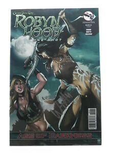 Robyn Hood Age of Darkness One Shot 2014 Signed By Artist FN/VF Free Shipping