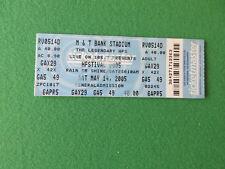Hfstival 2005 Matrice del BIGLIETTO M&T Bank Stadium Foo COLDPLAY Billy Idol somma 41 + +
