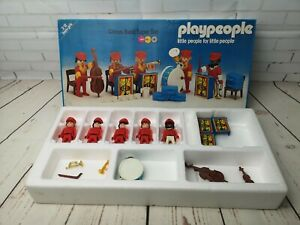 Vintage Playpeople circus band super set 1796, playmobil, marx toys, incomplete