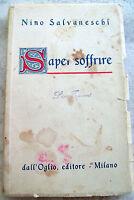 1947 NINO SALVANESCHI DA PAVIA 'SAPER SOFFRIRE'