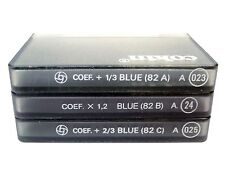 NEW Cokin A Series Cooltone Filter Set - A023 (82A) ~ A024 (82B) ~ A025 (82C)