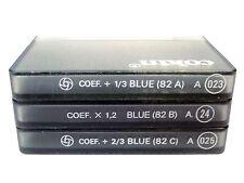 NEW Cokin A Series Cooltone Filter Set - A023 (82A) ~ A024 (82B) ~ A025 (82C)