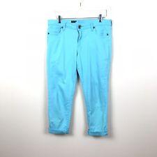 Kut from the Kloth Womens 10 Catherine Slim Boyfriend Jeans Blue Cotton Stretch