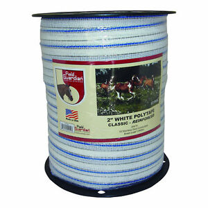 """Field Guardian 2"""" White Polytape Classic Reinforced 631804  814421012197"""
