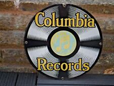 1990s  HEAVY ENAMEL COLUMBIA RECORDS  Sign  by Ande Rooney
