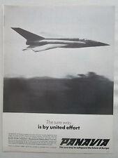 1/1970 PUB PANAVIA TORNADO COMBAT AIRCRAFT MBB FIAT BAC PVA3 ORIGINAL AD