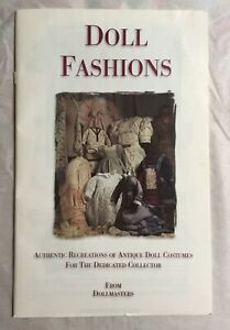 Dollmasters Antique and Vintage Recreations of Antique Doll Costumes Catalog
