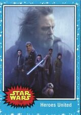 Star Wars Journey To The Last Jedi Mini Master - Base & 4 Chase Sets - 142 Cards