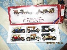 Classic Cars Die Cast set of 6 in original Box