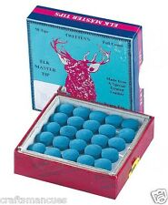 BOX OF 50 x ELK MASTER TIPS 9mm, AS USED BY THE PRO'S
