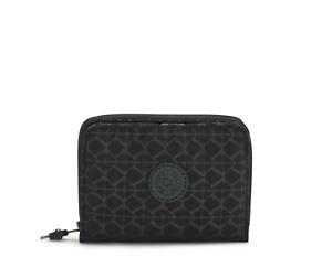 Kipling RFID Purse Wallet MONEY LOVE Medium SIGNATURE EMBOSSED FW21 RRP £44