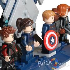 LEGO Marvel 76042 Captain, Nick Fury, Black Widow, Maria Hill, Hawkeye + Stand