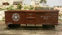 Roundhouse MDC HO Old Time 36' Boxcar, Houston & Texas Central Upgraded, Exc