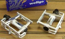 WELLGO TRACK,SINGLE SPEED,FIXED GEAR,FIXIE ULTRA LIGHT ROAD BIKE PEDALS