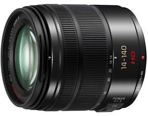 PANASONIC LUMIX G VARIO 14-140mm / F3.5-5.6 ASPH. / POWER O.I.S. Lens